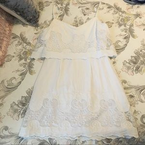 White Gianni Bini Summer Dress